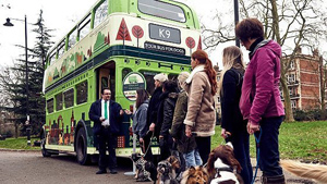 City bus con il cane a Londra