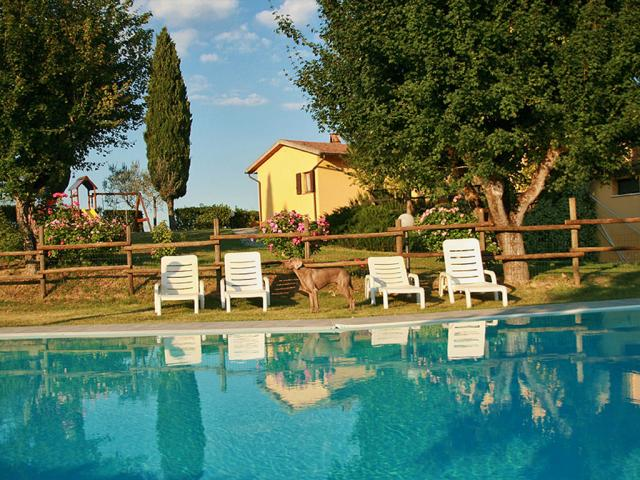 Agriturismo Metina pet friendly in Toscana in provincia di Siena