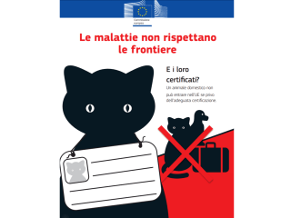Vacanze e viaggio all'estero con cane e gatto - Il PETS - PEt Travel Scheme in vigore in Europa